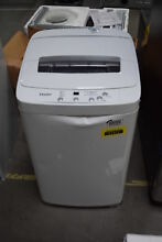 Haier HLP24E 21  1 5 cu  ft  Portable White Top Load Washer  30048 HRT