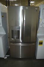 GE PYD22KSLSS 36  Stainless French Door Refrigerator NOB CD  33015 HRT