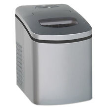 AVANTI Portable Countertop Ice Maker Silver 9 3 4 W x 14 D x 13 H IM12CIS