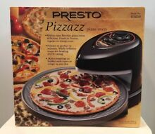 NIB Presto Pizzazz Pizza Oven Maker National Presto Industries No  03430 NEW