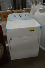 Whirlpool WGD49STBW 30  7 cu  ft White Front Load Steam Gas Dryer NOB  33267 CLW