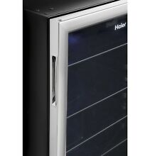 Haier HEBF100BXS Locking 150 Can Stainless Steel Beverage Center New