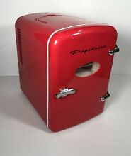 NEW  Frigidaire  EFMIS129  Portable 6 Can Mini Refrigerator   Red