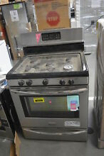 Frigidaire LGGF3042KF 30  Stainless Freestanding 5 Burner Gas Range  33372 CLW