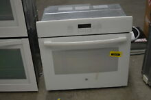 GE JT5000DFWW 30  White Single Electric Convection Wall Oven  33956 HRT