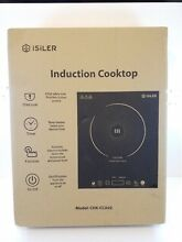 New Portable Induction Cooktop  ISiLER 1800W Sensor Touch Electric Cooker  Read