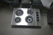 Frigidaire FFEC3005LS 30  Stainless Electric Coil Cooktop NOB  28055 HL