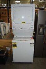 GE GUD27GSSMWW 27  White Laundry Gas Center NOB  33010 HRT