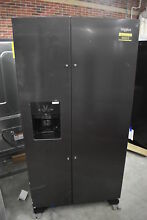 Whirlpool WRS325SDHV 36  Black Side By Side Refrigerator NOB  34294 MAD