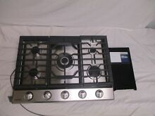 Samsung NA30K6550TS 30  Stainless 5 Burner Gas Cooktop NOB Kitchen