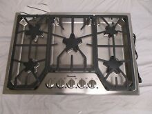 Thermador SGS305FS 30  Stainless 5 Burner Gas Cooktop NOB  Range