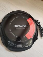 Nuwave Precision 2 Induction Cooktop Electric Black with bag book