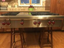 Wolf Rangetop 48  PRO RT486Q  6 Burners Grill  Warranty