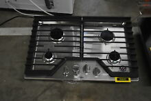 Whirlpool WCG55US0HS 30  Stainless 4 Burner Gas Cooktop NOB  36842 HRT