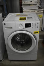 GE GFWN1600JWW 27  White Front Load Washer NOB  36593 HRT