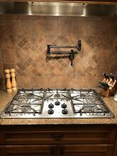 GE PGP966SET Stainless Steel 36 in  Gas Gas Cooktop