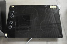 Whirlpool W5CE3024XB 30  Black Smoothtop Electric Cooktop NOB  37105 MAD