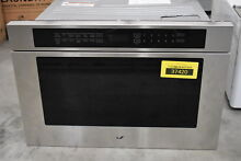 Jenn Air JMDFS24GS 24  Stainless Microwave Drawer NOB  37420 MAD
