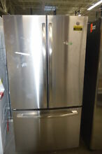 GE GNE27JSMSS 36  Stainless Energy Star French Door Refrigerator NOB  34216  HRT