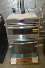 GE Profile PK7800SKSS 27  Stainless Microwave Combo Electric Wall Oven 34091 HRT