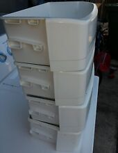 Four  4  GE Side by Side Refrigerator shelf  White  200D3983P002