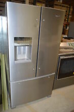 Whirlpool WRF555SDFZ 36  Stainless French Door Refrigerator NOB  20049 T2 CLW