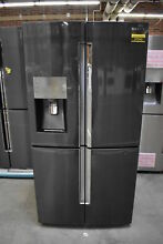 Samsung RF28K9380SG 36  Black Stainless French Door Refrigerator  37543 HRT