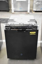 GE GDF640HGMBB 24  Black Full Console Dishwasher NOB  37622 HRT