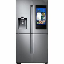 Samsung Family Hub Wi Fi Enabled Family Hub 22 cu ft 4 Door Counter Depth French