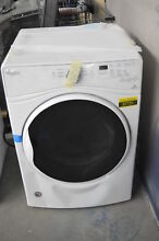 Whirlpool WED85HEFW 27  White Front Load Electric Dryer NOB  37731 CLN
