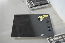 Whirlpool W5CE3024XB 30   Black Smoothtop Electric Cooktop NOB  35273 HRT