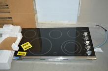 Frigidaire FGEC3645PS 36  Stainless Smoothtop Electric Cooktop NOB  35280 HRT