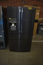 Samsung RF28JBEDBSG 36  Black Stainless French Door Refrigerator NOB  38004 CLN