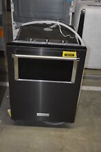KitchenAid KDTM804EBS 24  Black Stainless Integrated Dishwasher NOB  38115 HRT