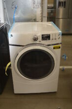 GE GFD45ESSMWW 27  White Front Load Electric Dryer NOB  34262 CLW