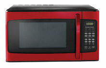Hamilton beach 1 1 cu ft Microwave Red Countertop Home Kitchen Heating Cooking