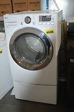 LG DLGX3371W 27  White Front Load Gas Dryer NOB  32366 HRT