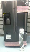 Samsung RF263BEAESG 25 cu ft  French Door Refrigerator w Water Dispense Open Box