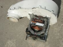 Maytag Neptune Gas Dryer MDG9700AWW Drive Motor with Wheel   Housing WP35001080