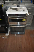 GE JK3800SHSS 27  Stainless Microwave Oven Combo Wall Oven NOB  34503 HRT
