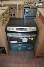 GE JS750SFSS 30  Stainless Slide In Electric Range NOB  35920 MAD