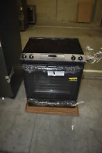 GE JS760FLDS 30  Black Slate Electric Slide In Range NOB  38730 MAD
