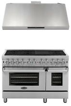Cosmo Kitchen Appliance Package 48  Dual Fuel Range and Under Cabinet Range Hood