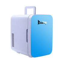 ZOKOP Portable 6L 8Can Mini Fridge Ultra Long Time Cooler and Warmer Blue