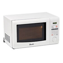 0 7 Cubic Foot Capacity Microwave Oven  700 Watts  White