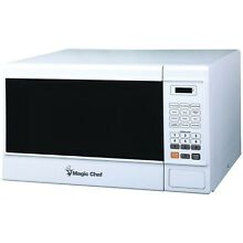 Magic Chef 1 3 Cubic Ft Countertop Microwave White MCM1310W