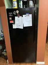 Frigidaire FFTR1814TB 30 Inch Freestanding Top Freezer Refrigerator in Black