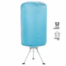 Ventless Portable Clothes Dryer Folding Laundry Drying Machine   Heater   Cover