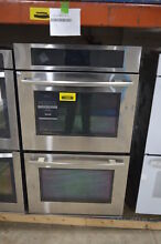 Jenn Air JJW3830WS 30  Stainless Steel Double Wall Oven  1230 MAD