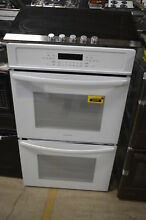 Frigidaire FFET3026TW 30  Double Wall Oven White  30309 MAD